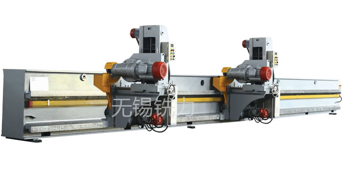 XB non pressure beam double power head edge milling machine